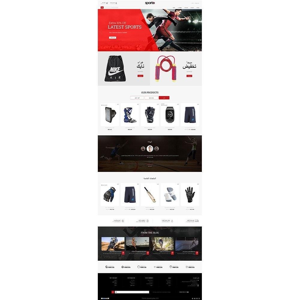 theme - Sports, Activities & Travel - Sporto Demo Store - 9