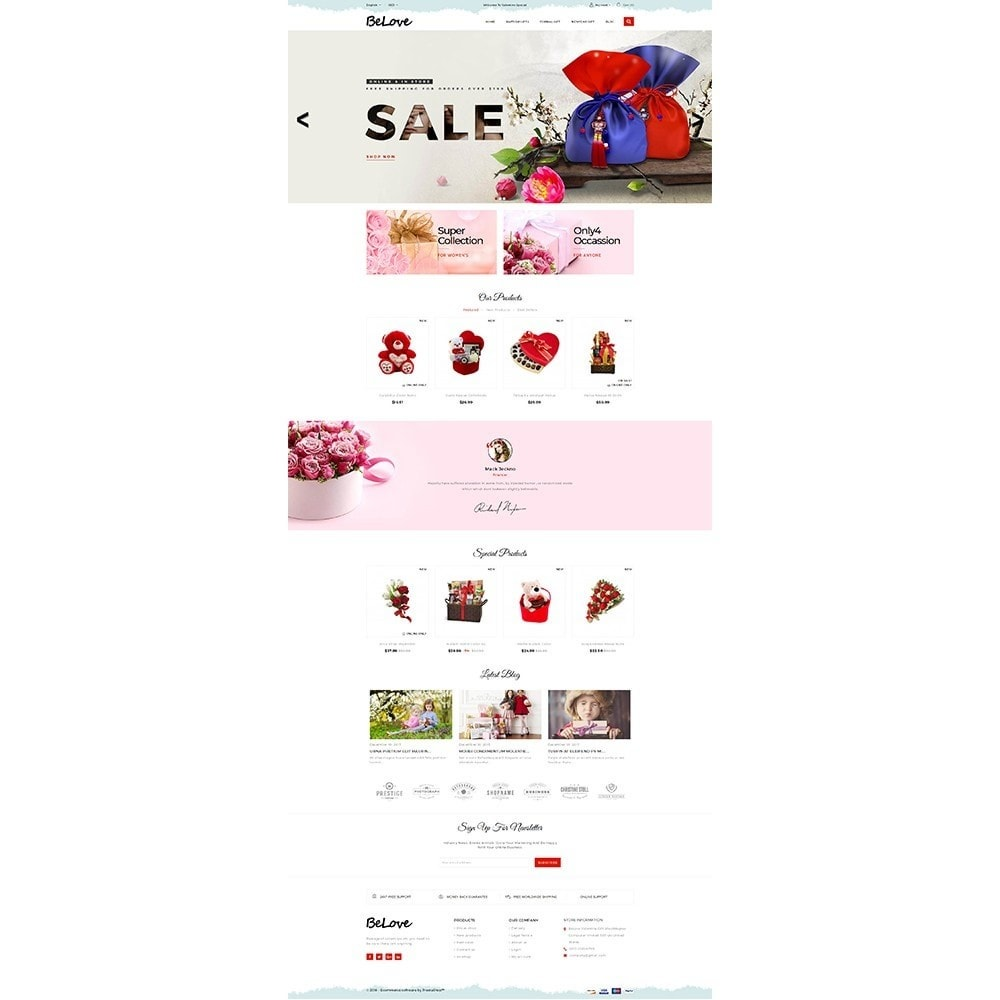 theme - Gifts, Flowers & Celebrations - Belove Gift Store - 2