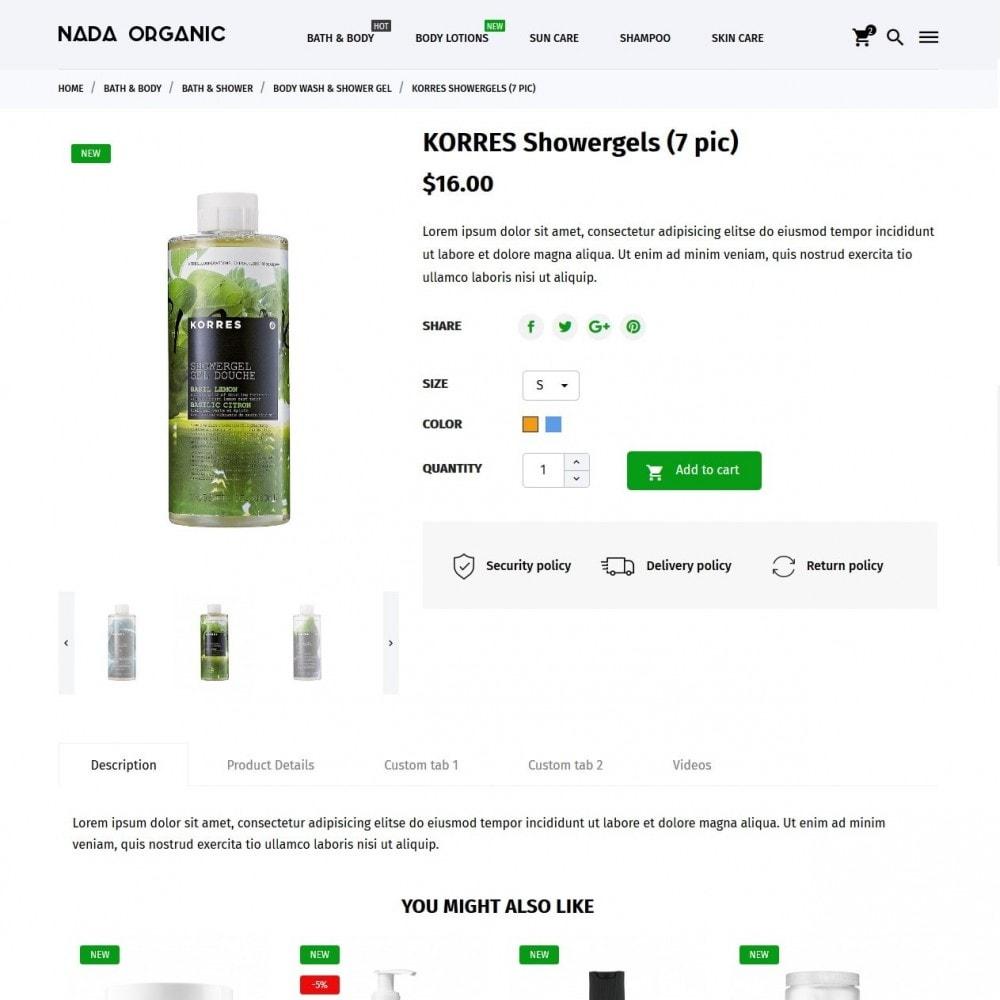 theme - Gezondheid & Schoonheid - Nada Organic - 6