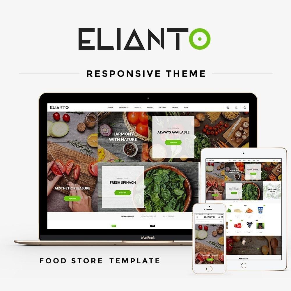 theme - Продовольствие и рестораны - Elianto - 1