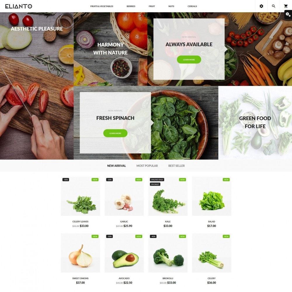 theme - Продовольствие и рестораны - Elianto - 2