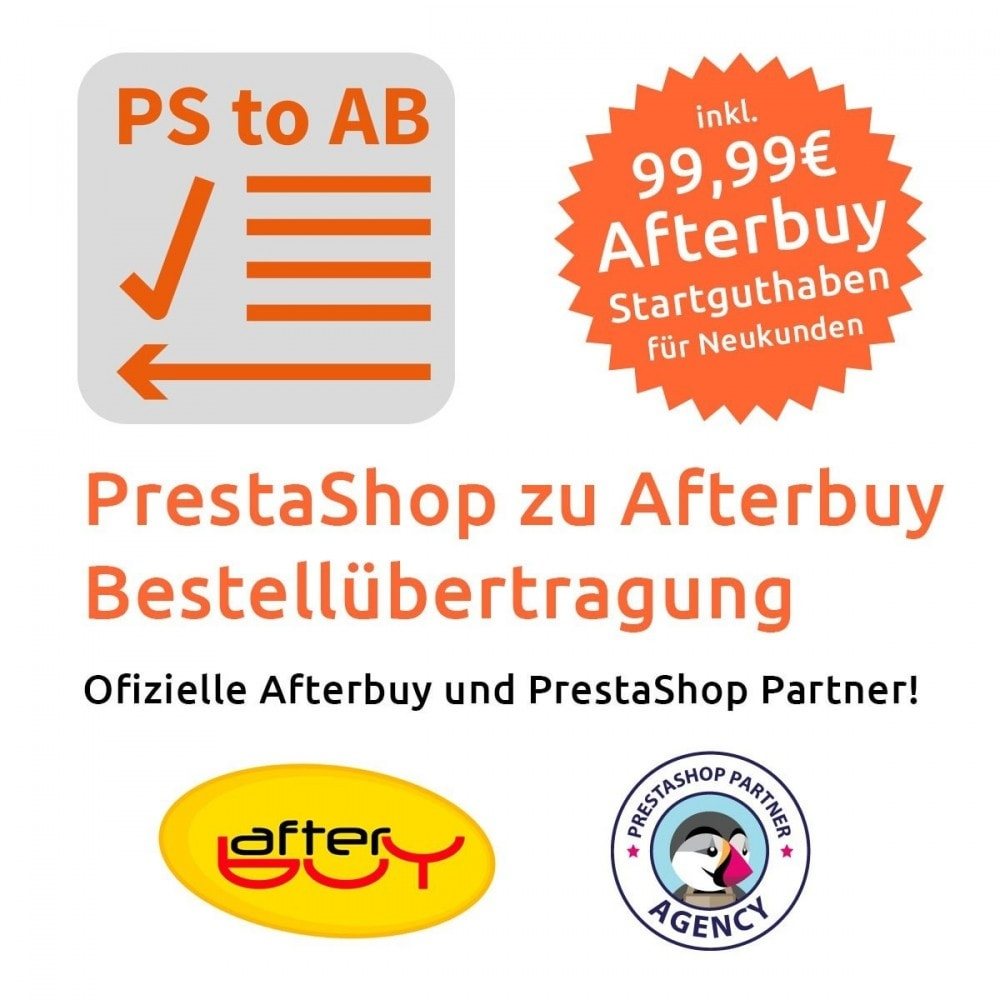 module - Data Integraties (CRM, ERP...) - PrestaShop to Afterbuy Order submission - 1