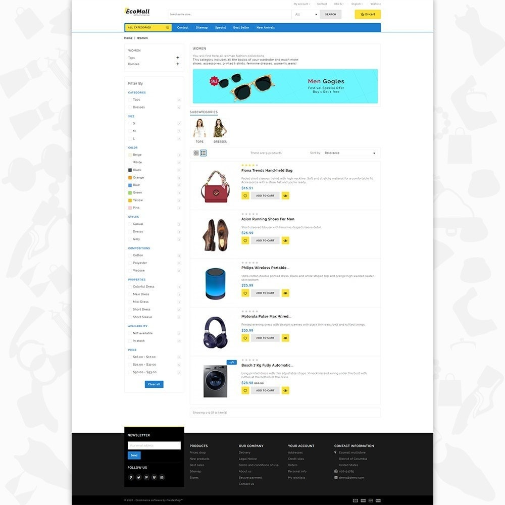 theme - Electronique & High Tech - EcoMall - The Mega Ecommerce Store - 4