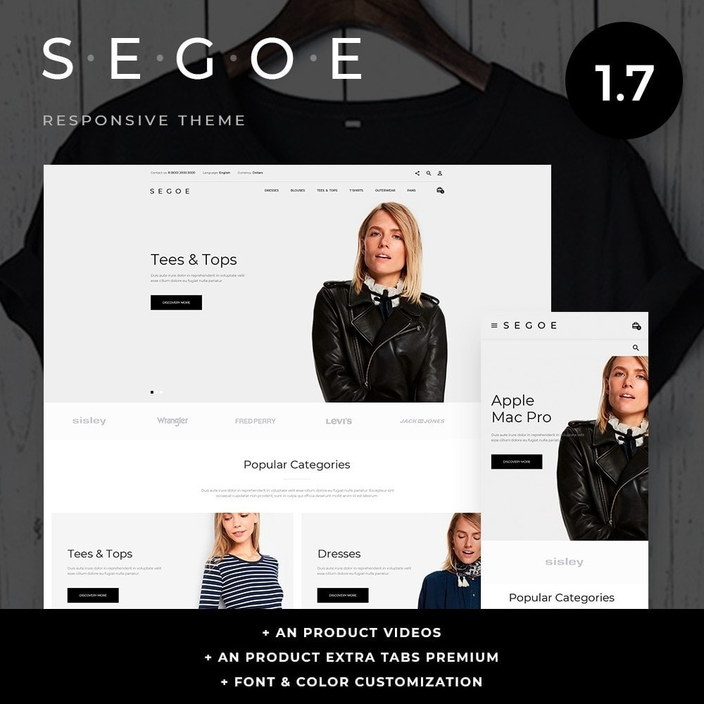 theme - Mode & Schoenen - Segoe Fashion Store - 1