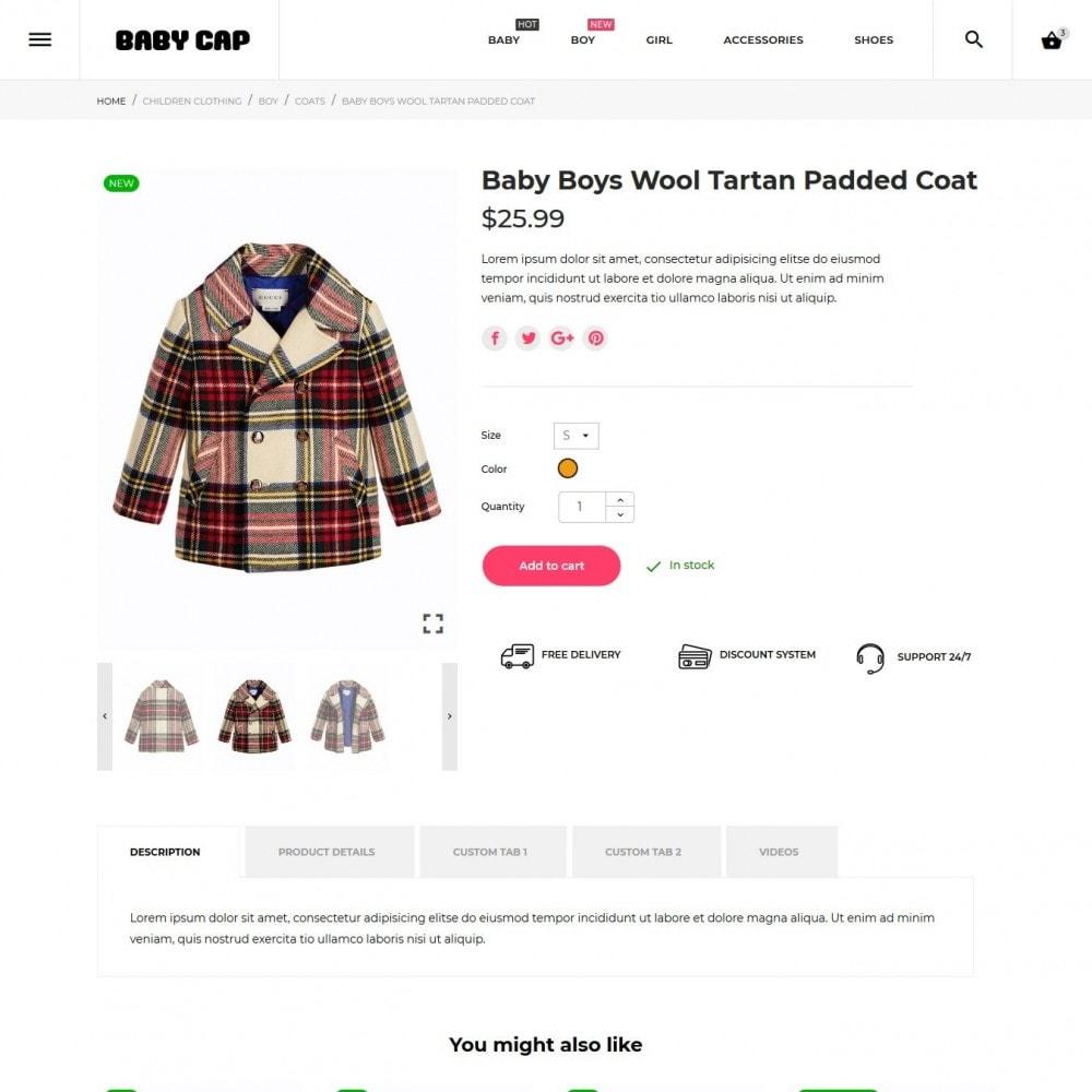 theme - Дети и Игрушки - Baby cap - 7