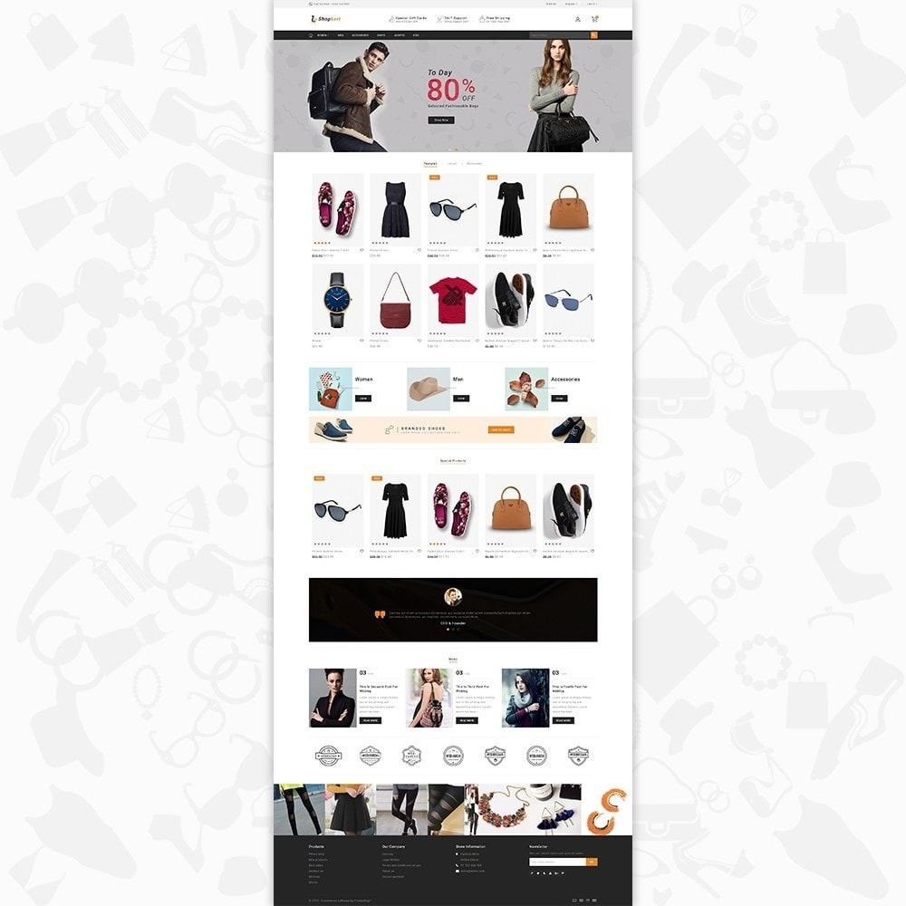 theme - Elektronika & High Tech - ShopKart - The Fashion Store - 2