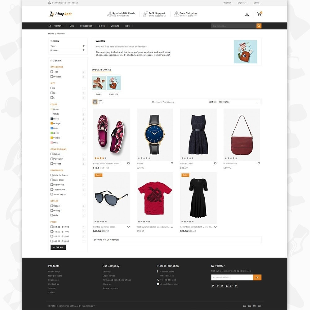 theme - Elektronika & High Tech - ShopKart - The Fashion Store - 3