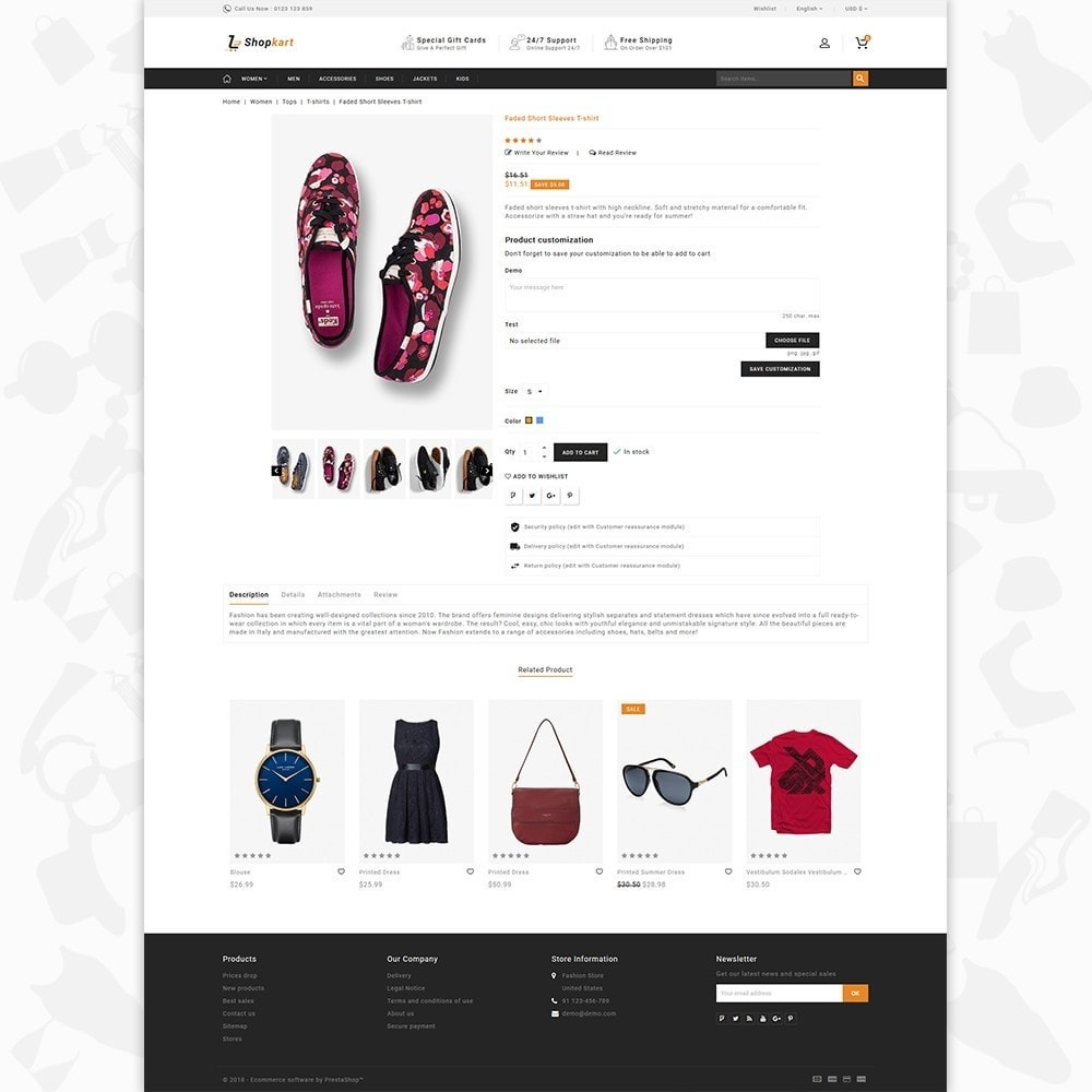 theme - Elektronika & High Tech - ShopKart - The Fashion Store - 5