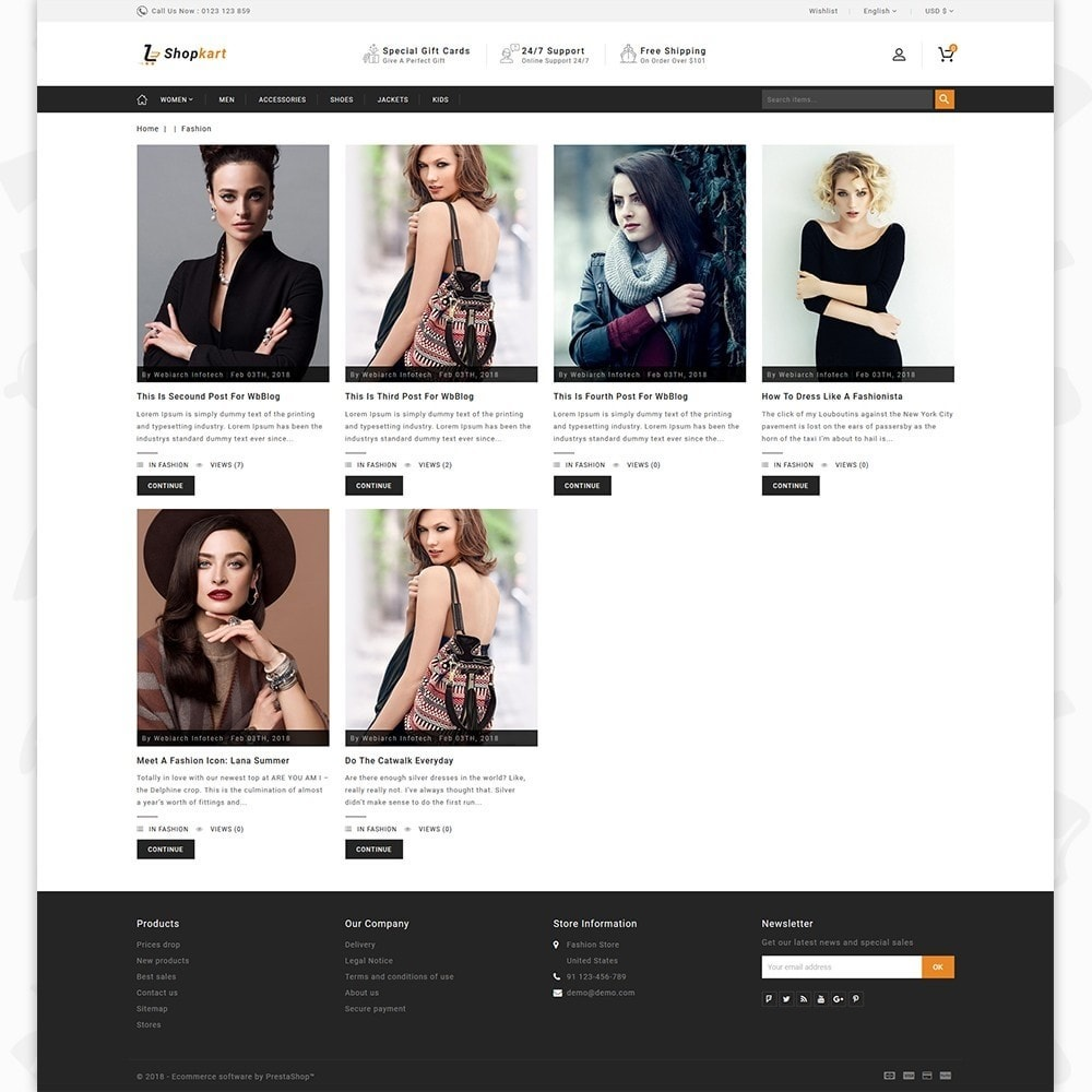 theme - Elektronika & High Tech - ShopKart - The Fashion Store - 6