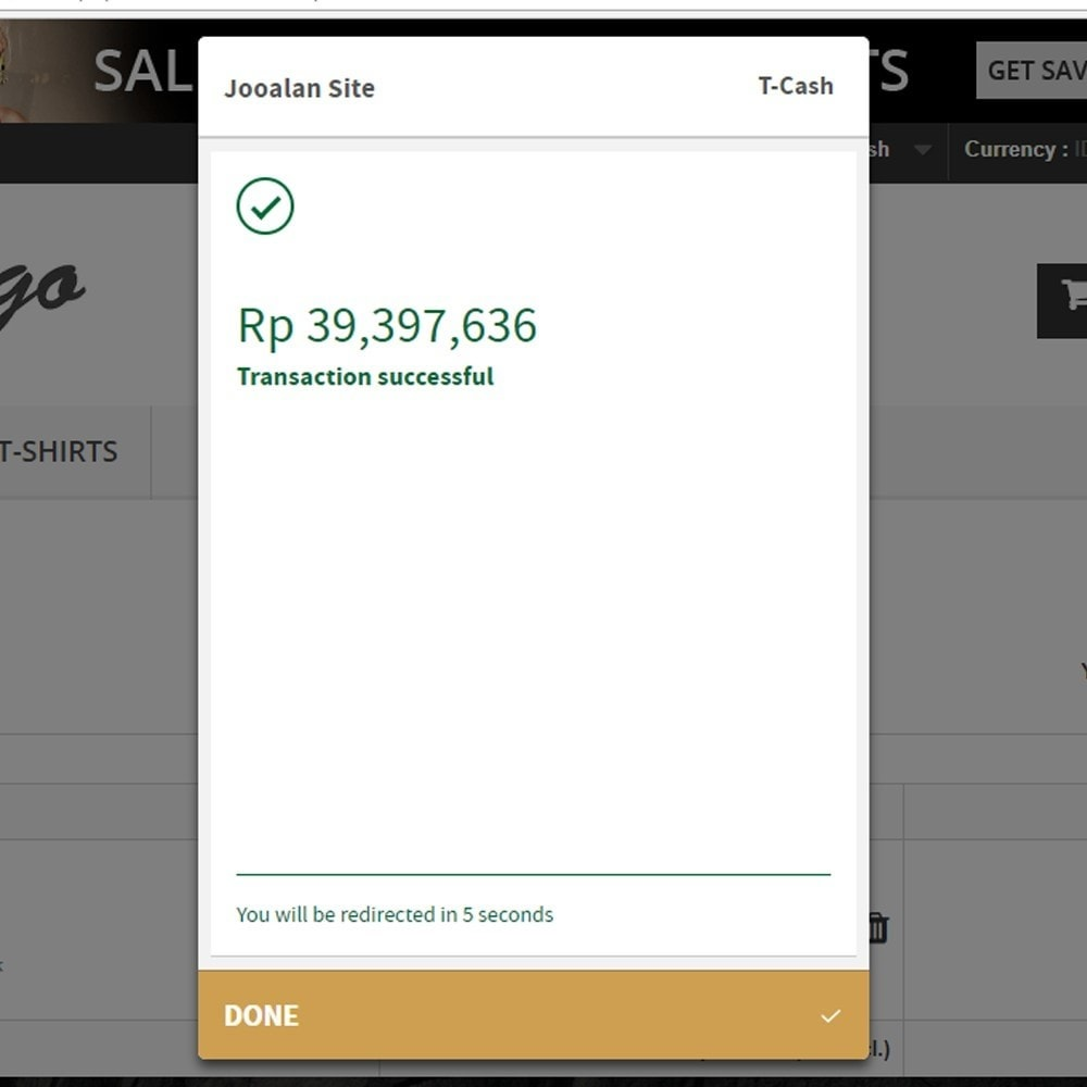 module - Payment - Indonesia Midtrans Snap Pay - 3