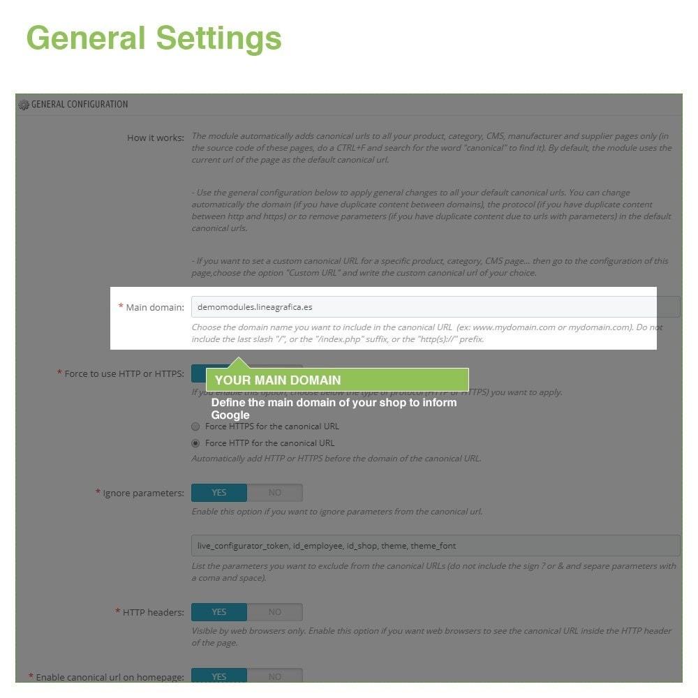 module - URL & Omleidingen - Canonical SEO URLs to Avoid Duplicate Content - 2