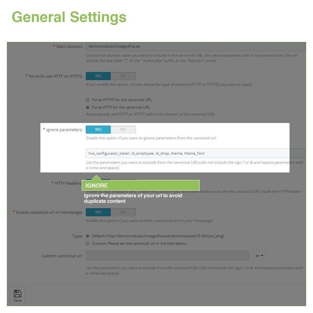 module - Управления адресами URL и перенаправлением - Canonical SEO URLs + Google Hreflang Pro - 4