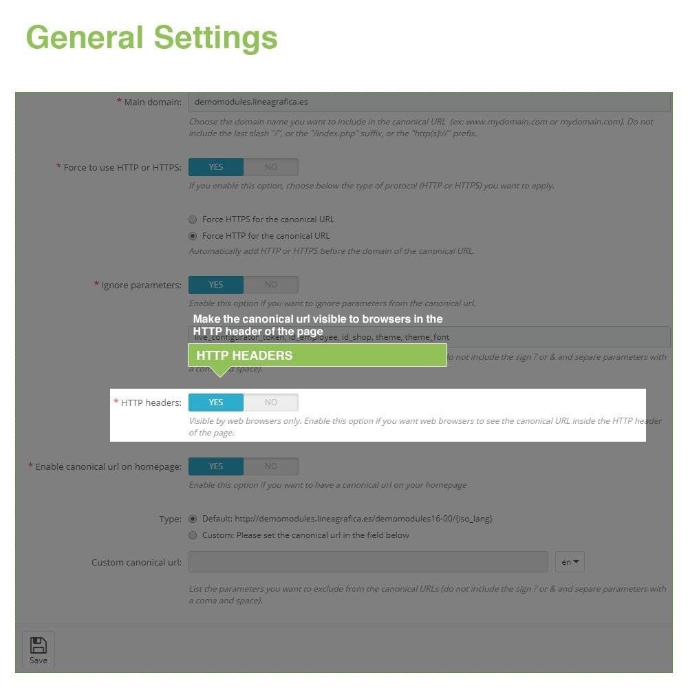module - Управления адресами URL и перенаправлением - Canonical SEO URLs + Google Hreflang Pro - 5