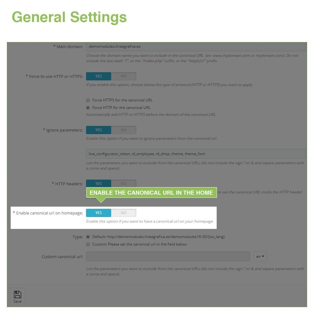module - Управления адресами URL и перенаправлением - Canonical SEO URLs + Google Hreflang Pro - 6