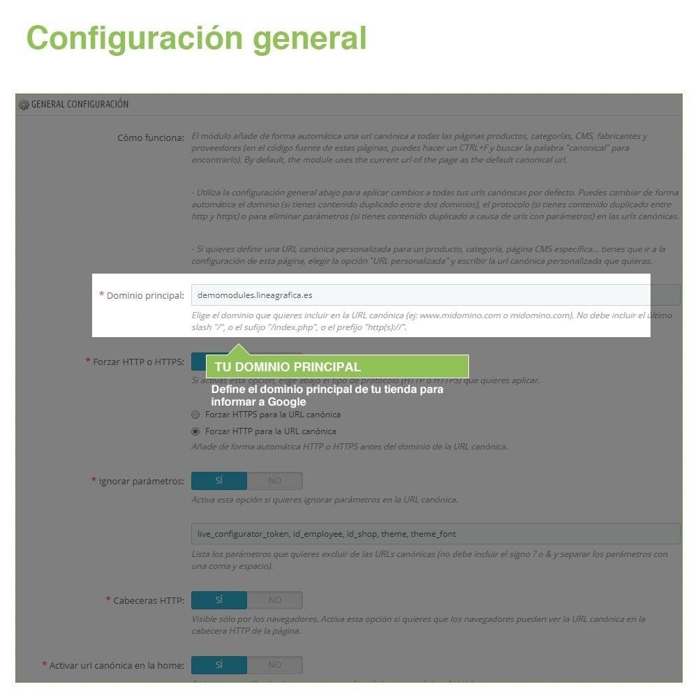 module - URL y Redirecciones - Canonical SEO URLs para Evitar Contenido Duplicado - 2