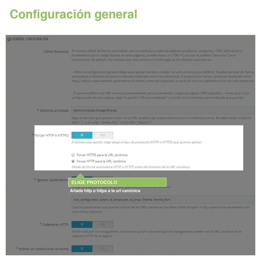 module - URL y Redirecciones - Canonical SEO URLs para Evitar Contenido Duplicado - 3
