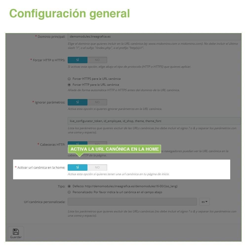 module - URL y Redirecciones - Canonical SEO URLs para Evitar Contenido Duplicado - 6