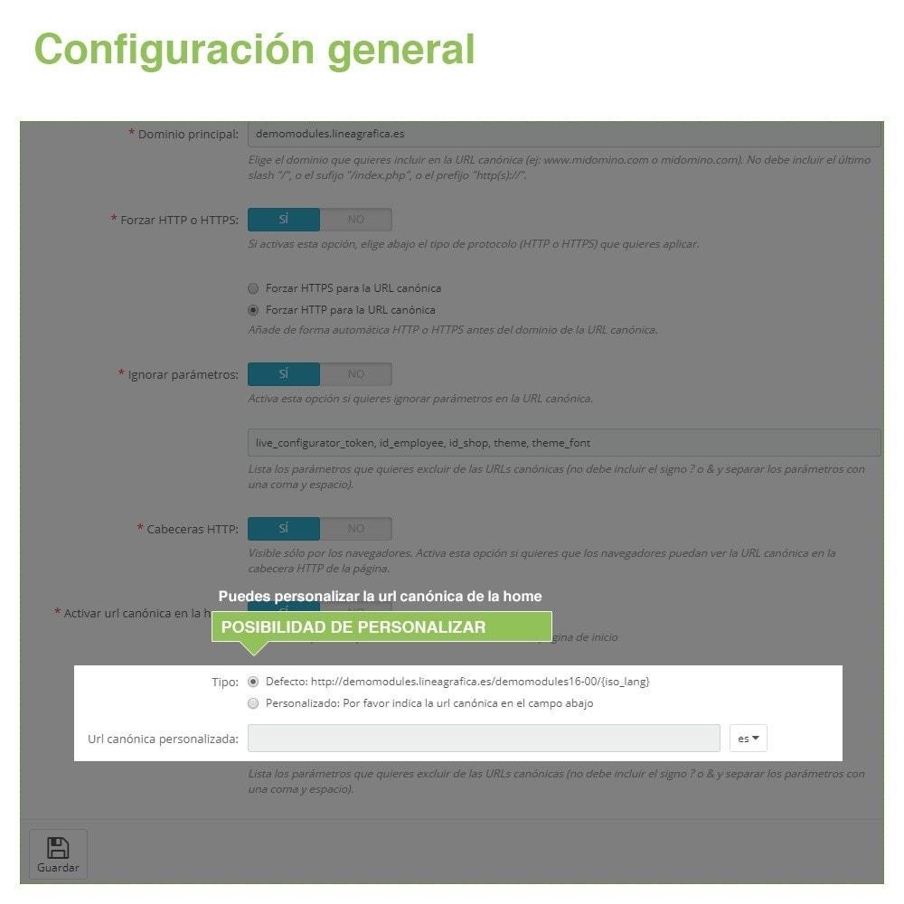 module - URL y Redirecciones - Canonical SEO URLs para Evitar Contenido Duplicado - 7