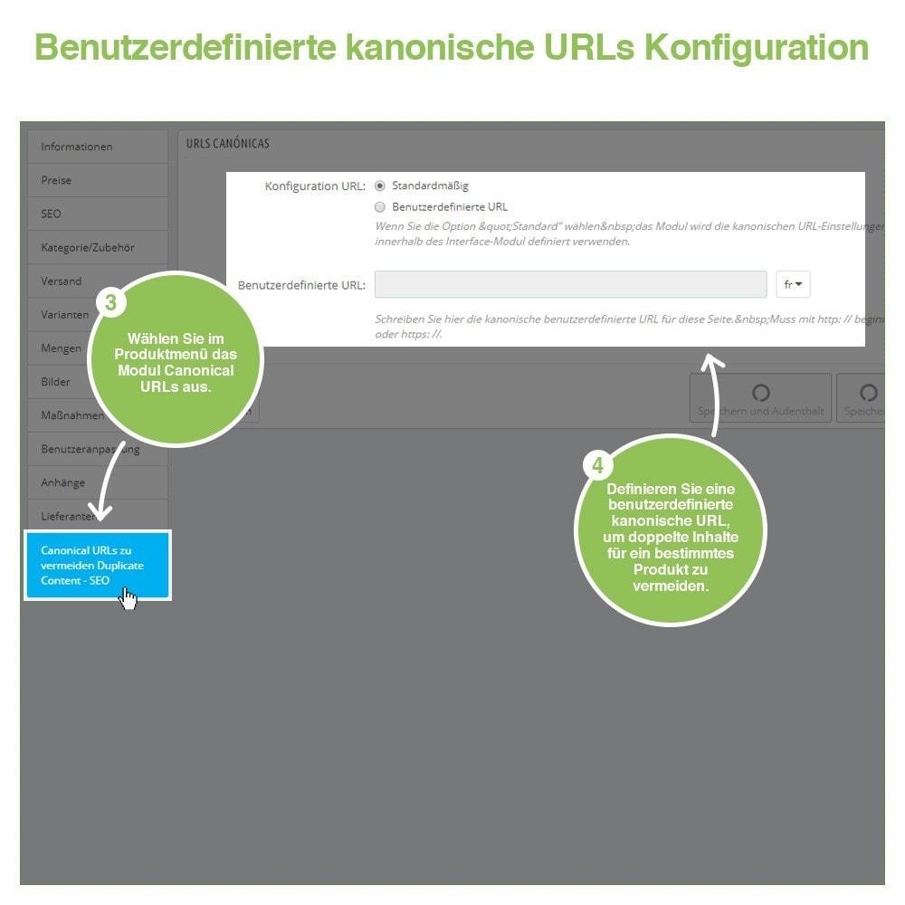 module - URL & Redirects - Kanonische URLs, um doppelte Inhalte zu vermeiden - SEO - 11