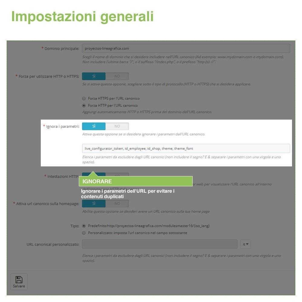 bundle - URL & Redirect - SEO - Migliora la tua indicazione web - 3-Module - 4