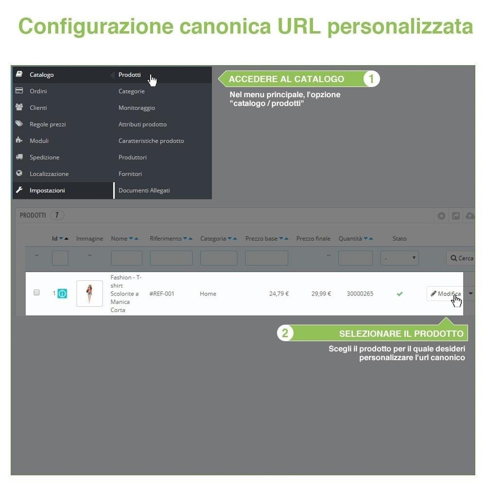 bundle - URL & Redirect - SEO - Migliora la tua indicazione web - 3-Module - 10