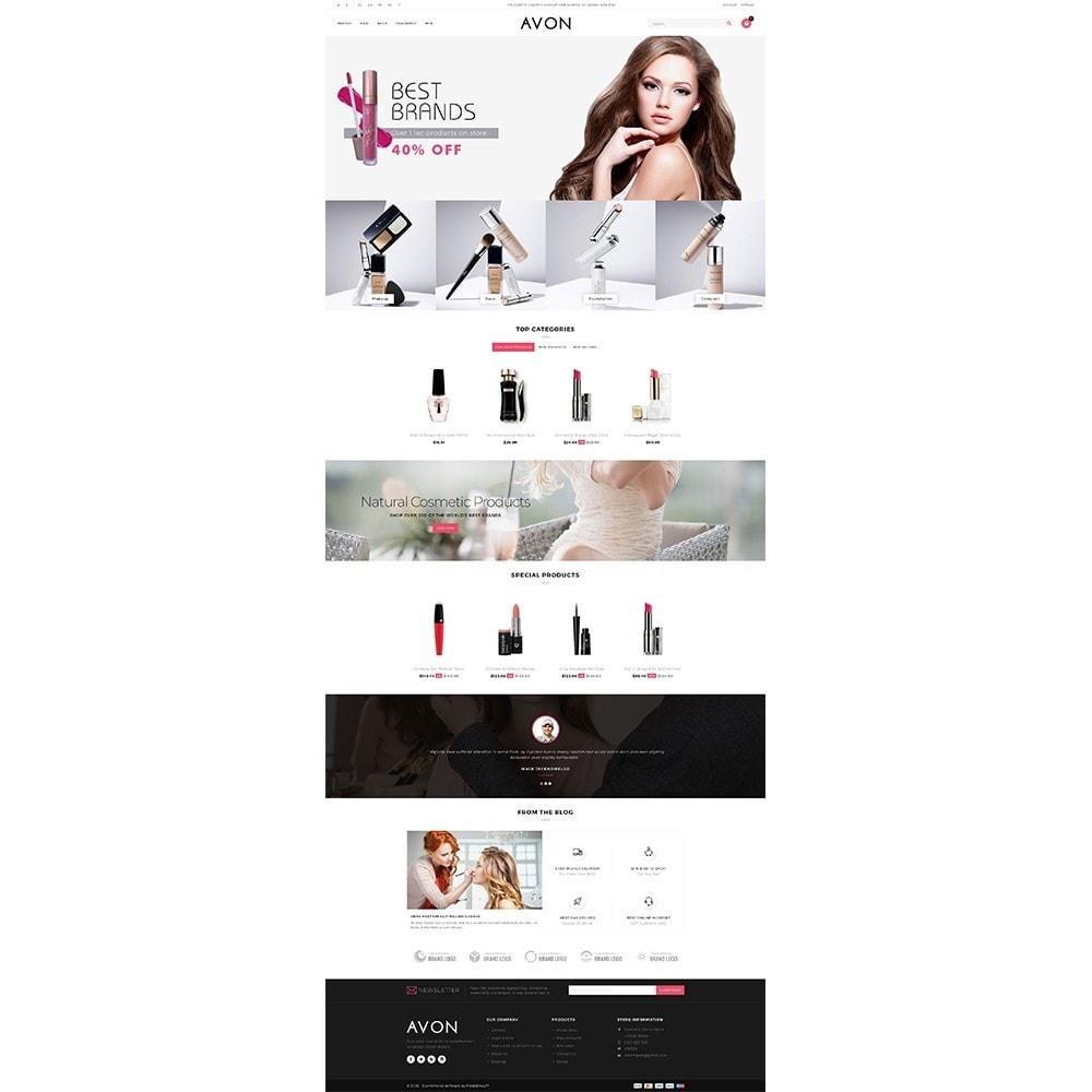 theme - Здоровье и красота - AVON Cosmetic Store - 2