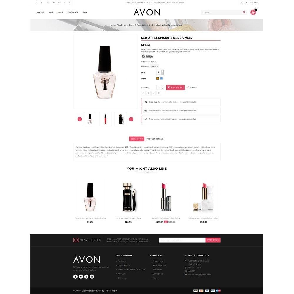theme - Здоровье и красота - AVON Cosmetic Store - 5