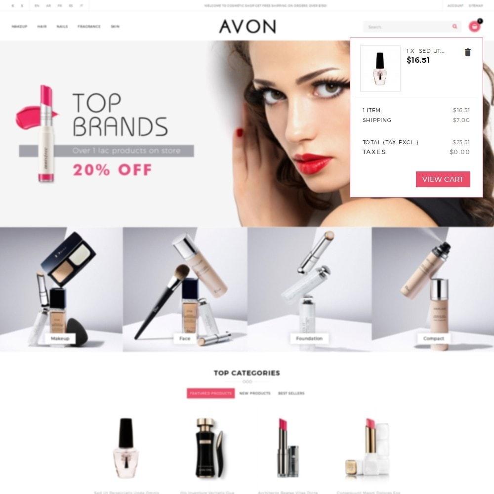 theme - Здоровье и красота - AVON Cosmetic Store - 8