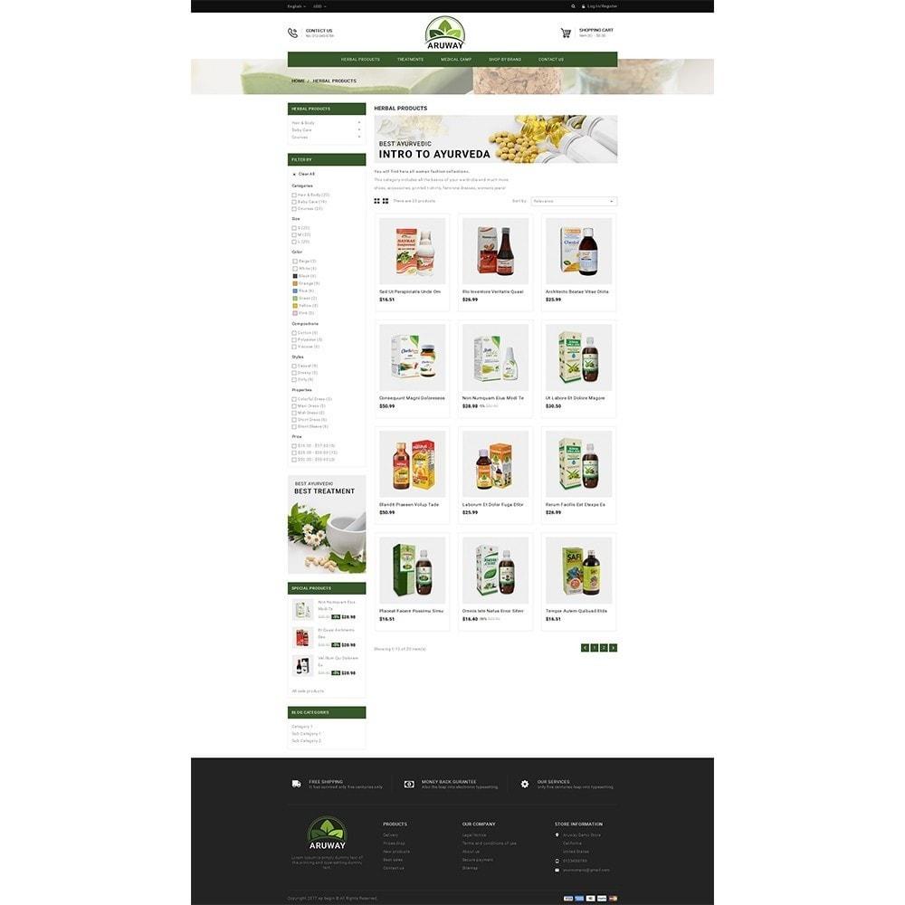 theme - Zdrowie & Uroda - Aruway health store - 3