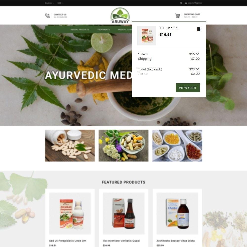 theme - Zdrowie & Uroda - Aruway health store - 8