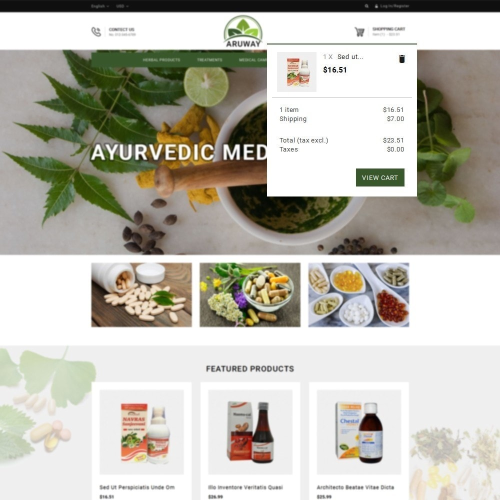 theme - Health & Beauty - Aruway health store - 8