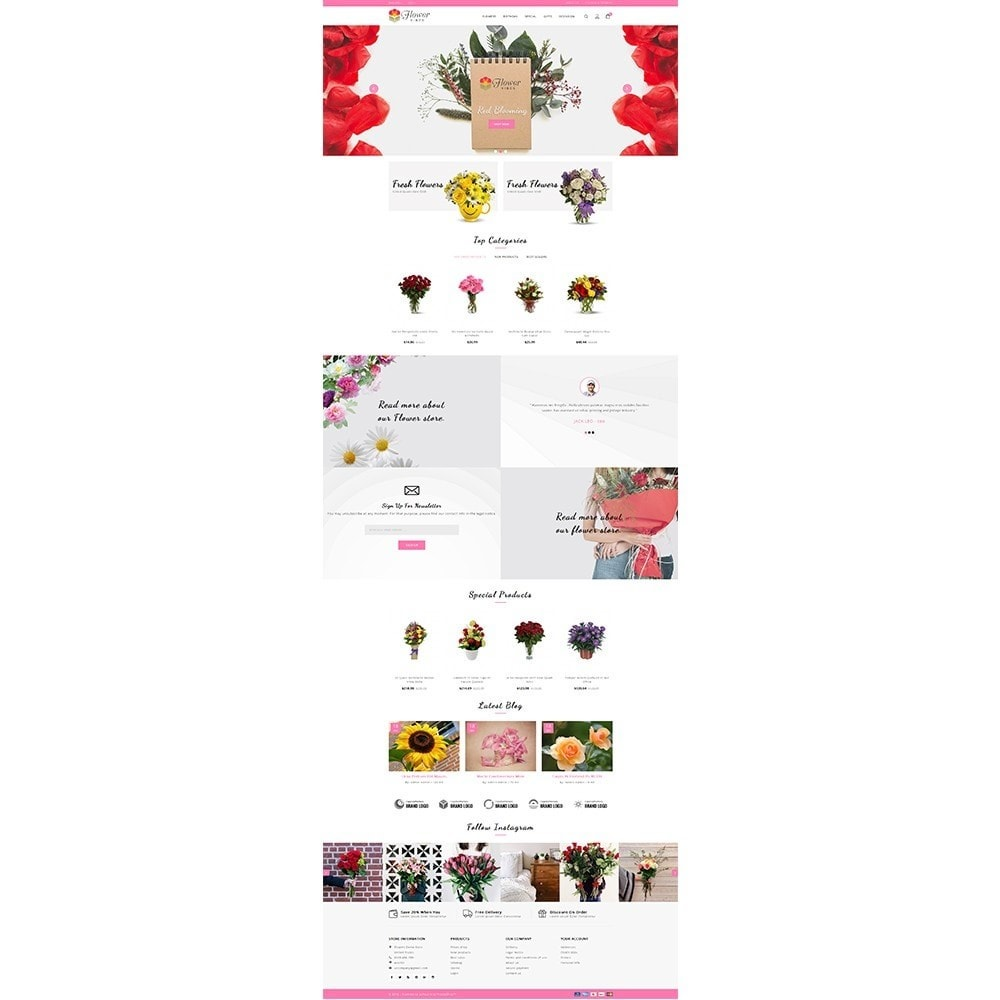 theme - Gifts, Flowers & Celebrations - Flower Vibes Store - 2