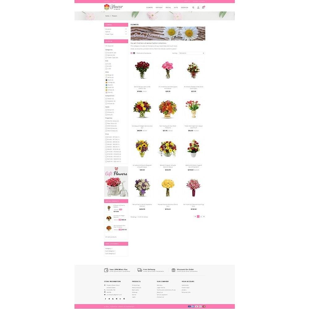 theme - Cadeaux, Fleurs et Fêtes - Flower Vibes Store - 3