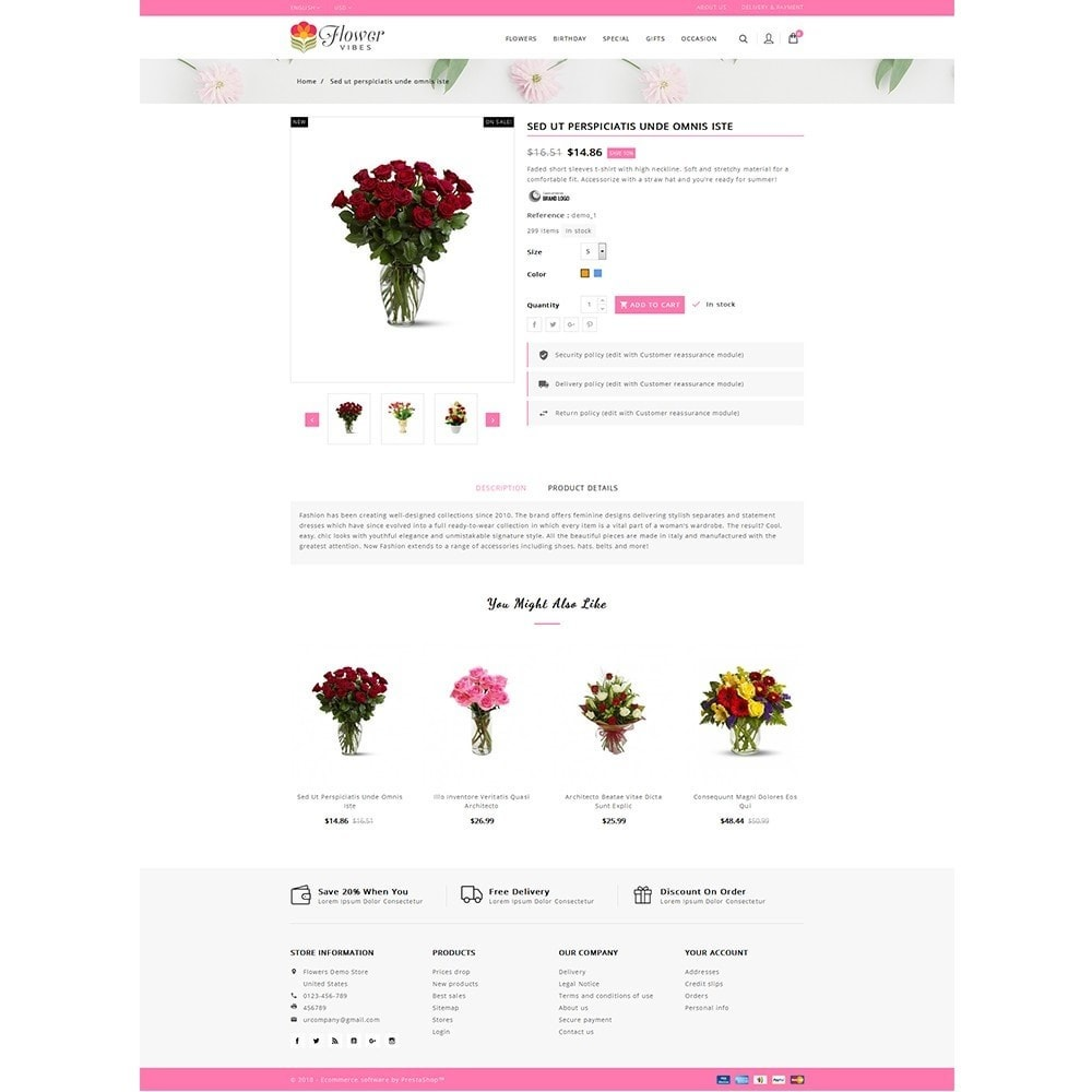 theme - Gifts, Flowers & Celebrations - Flower Vibes Store - 5