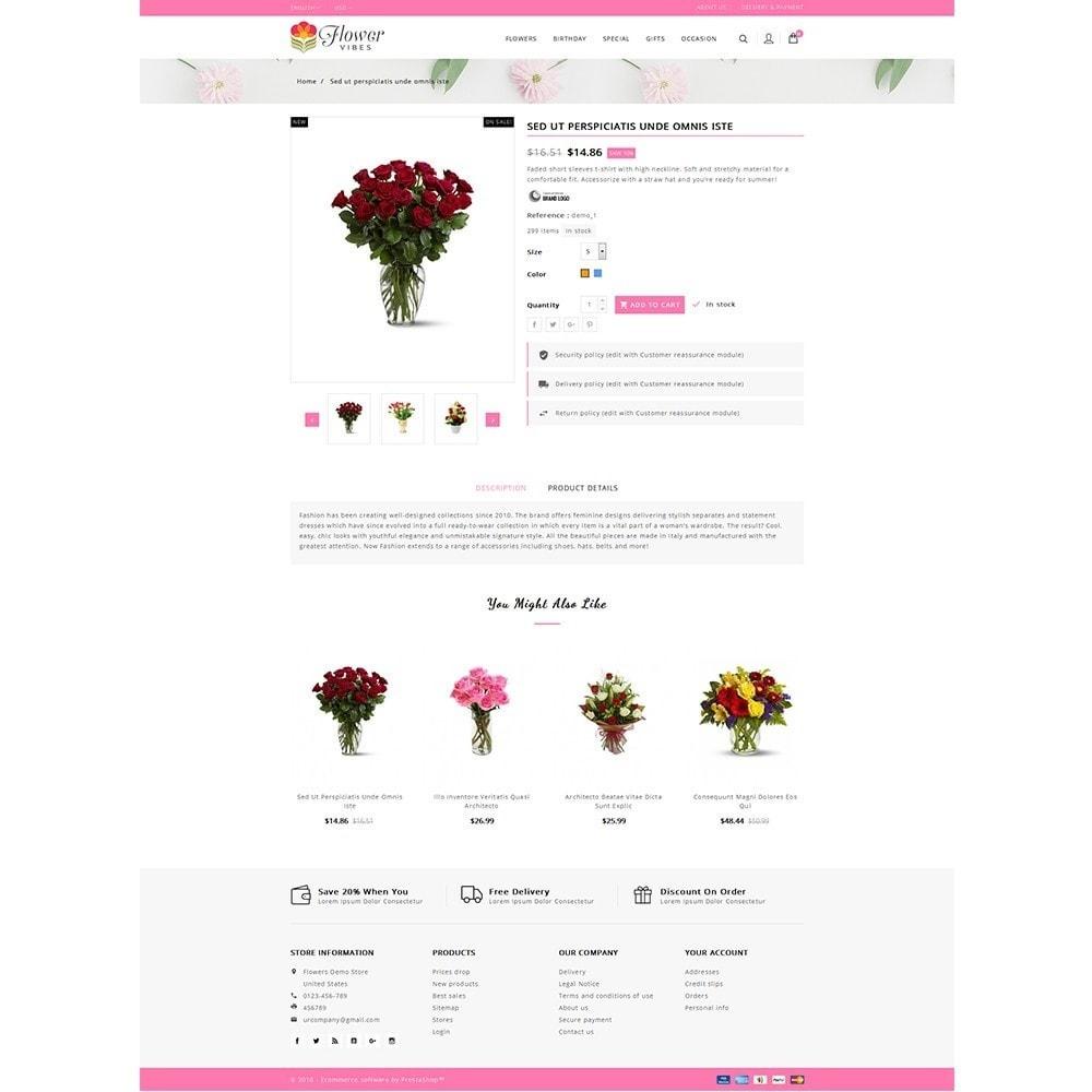 theme - Cadeaux, Fleurs et Fêtes - Flower Vibes Store - 5