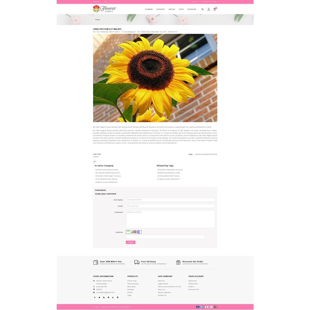 theme - Gifts, Flowers & Celebrations - Flower Vibes Store - 6