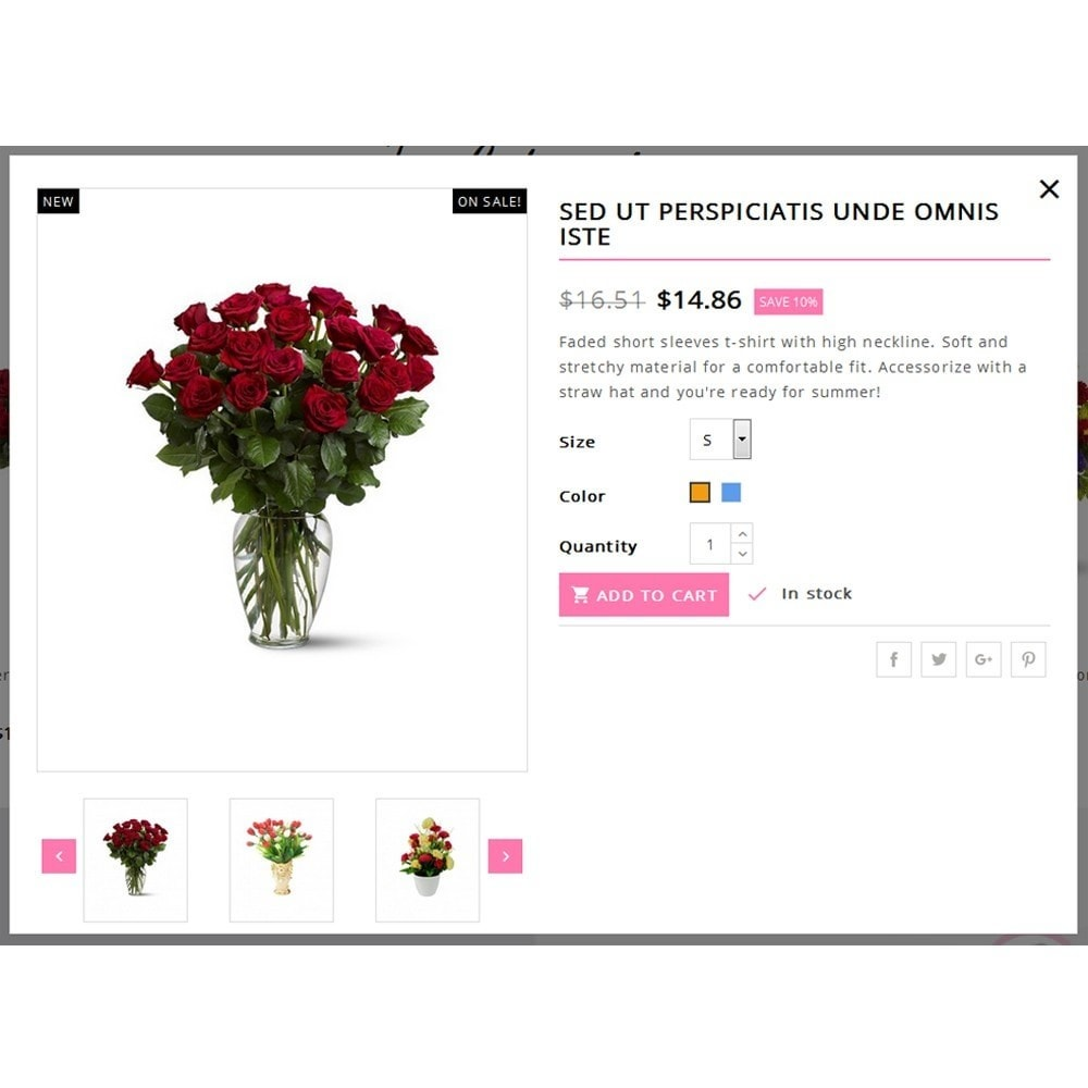 theme - Gifts, Flowers & Celebrations - Flower Vibes Store - 7