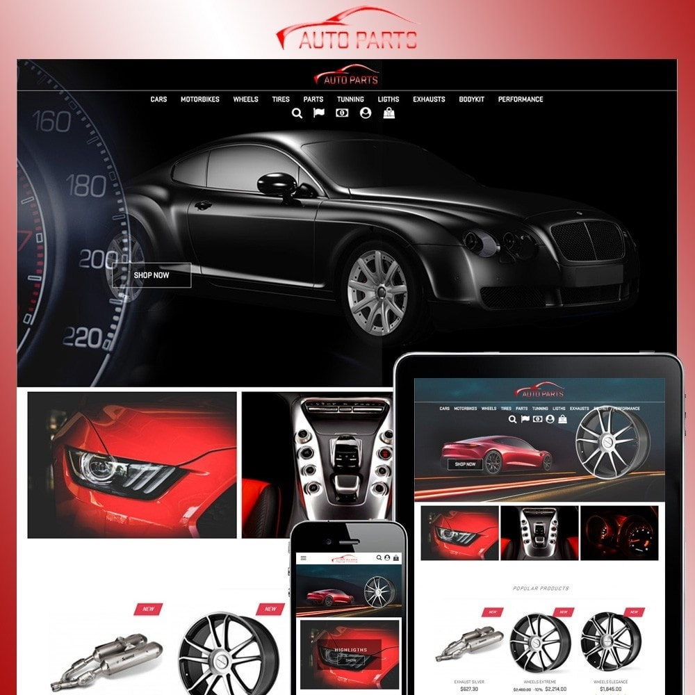 theme - Coches y Motos - Auto Parts - 1