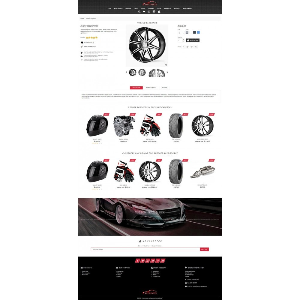 theme - Coches y Motos - Auto Parts - 3