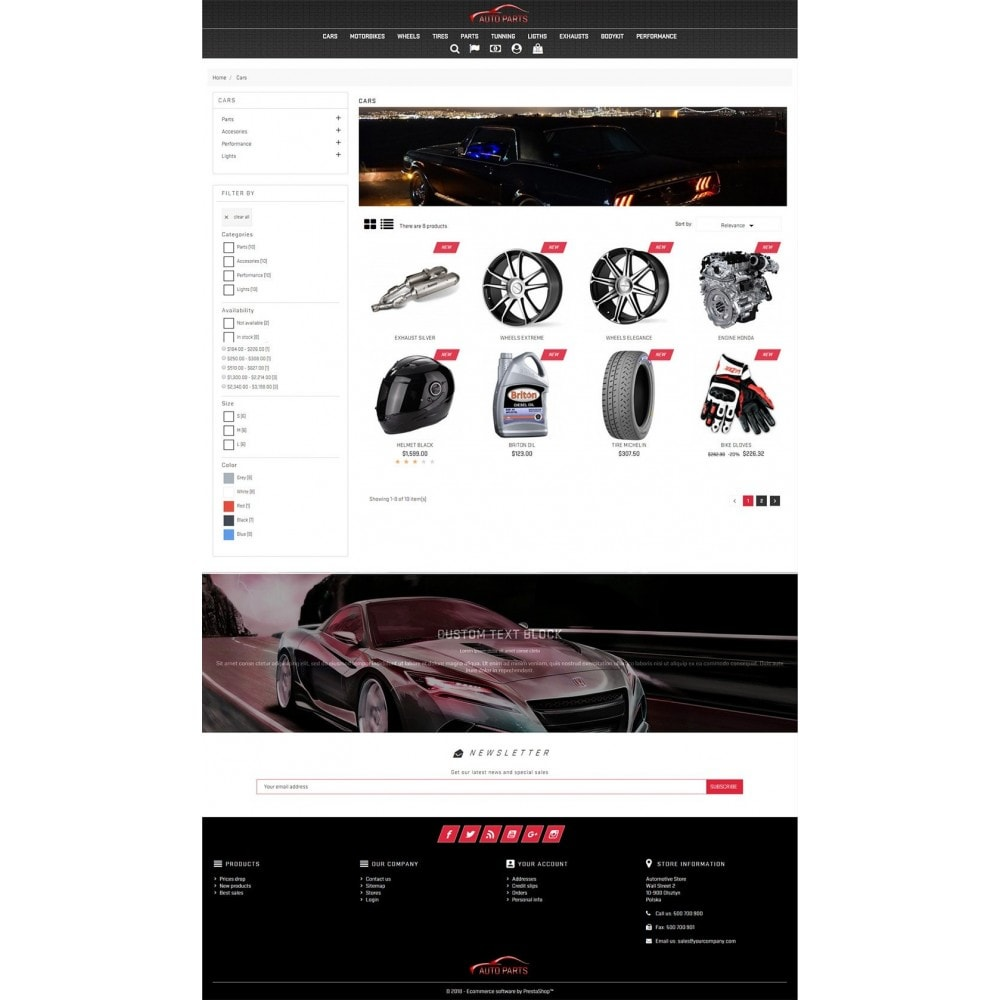 theme - Coches y Motos - Auto Parts - 4