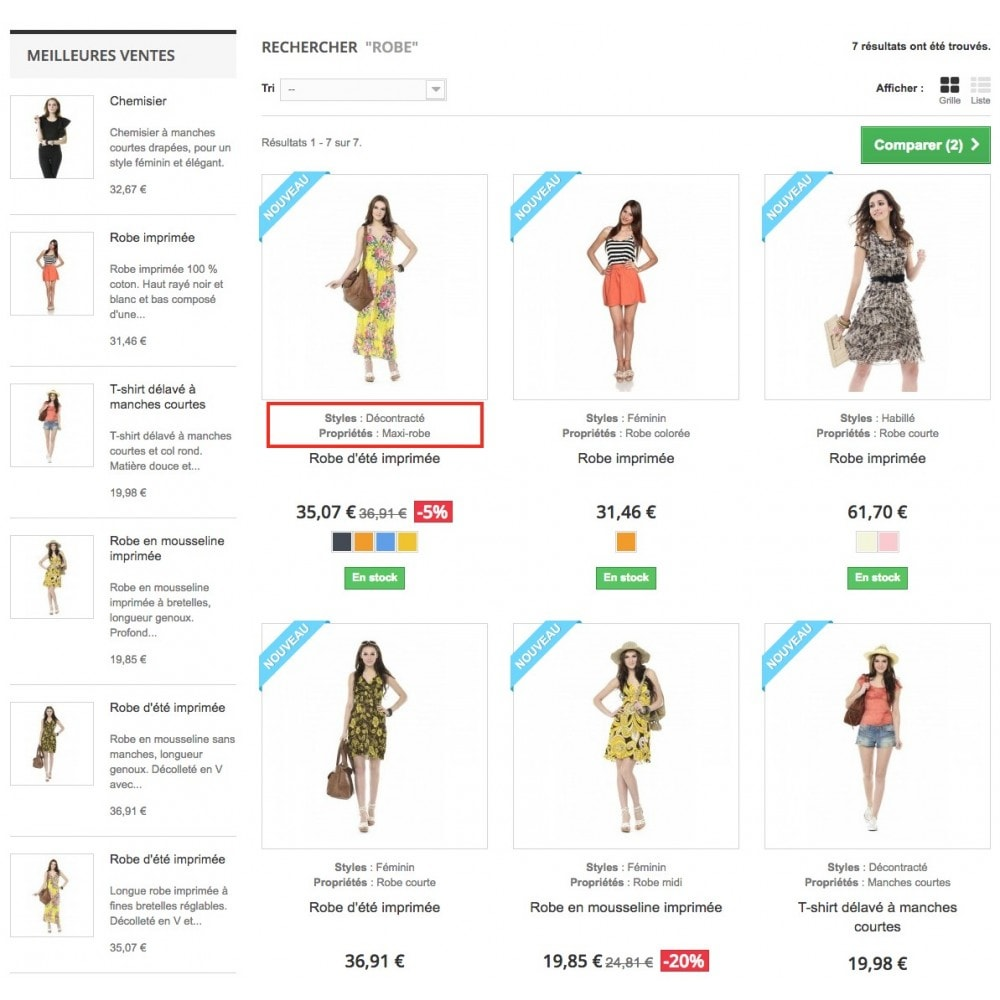 module - Additional Information & Product Tab - Product feature highlighting - 3
