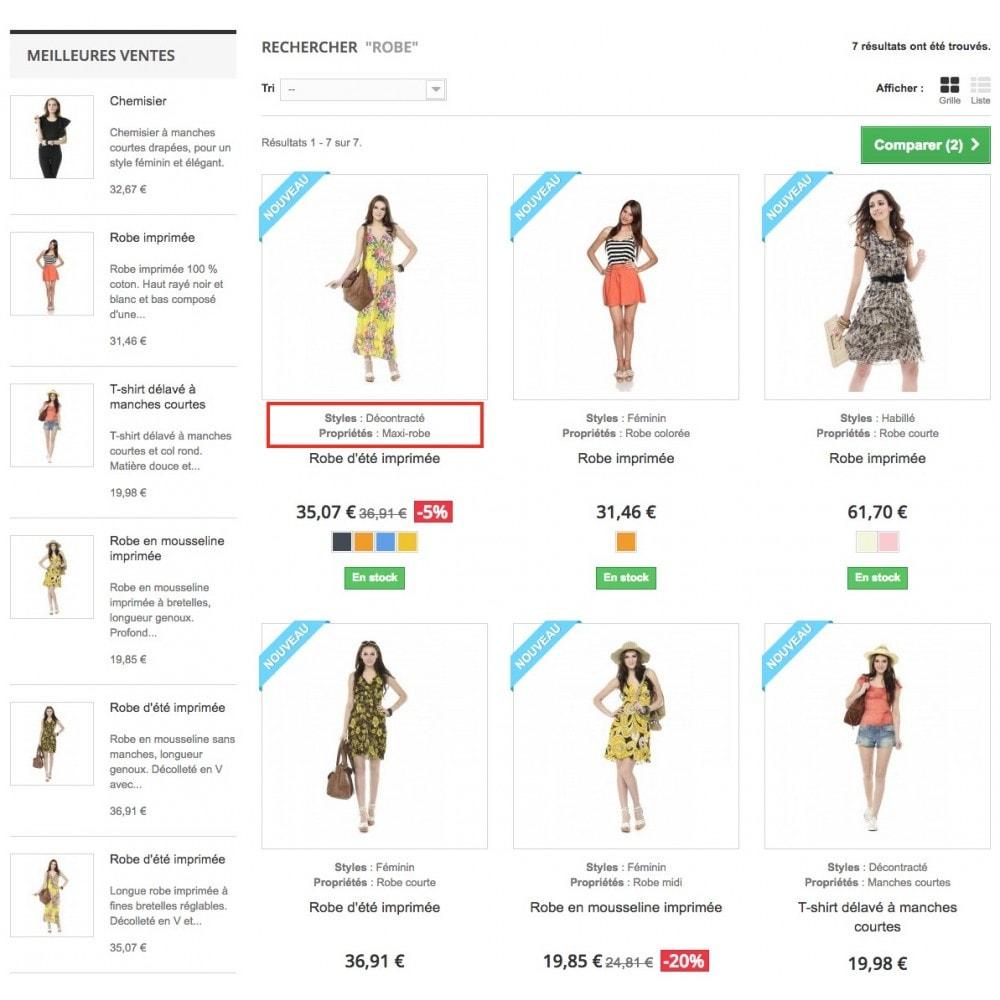 module - Informaciones adicionales y Pestañas - Product feature highlighting - 3