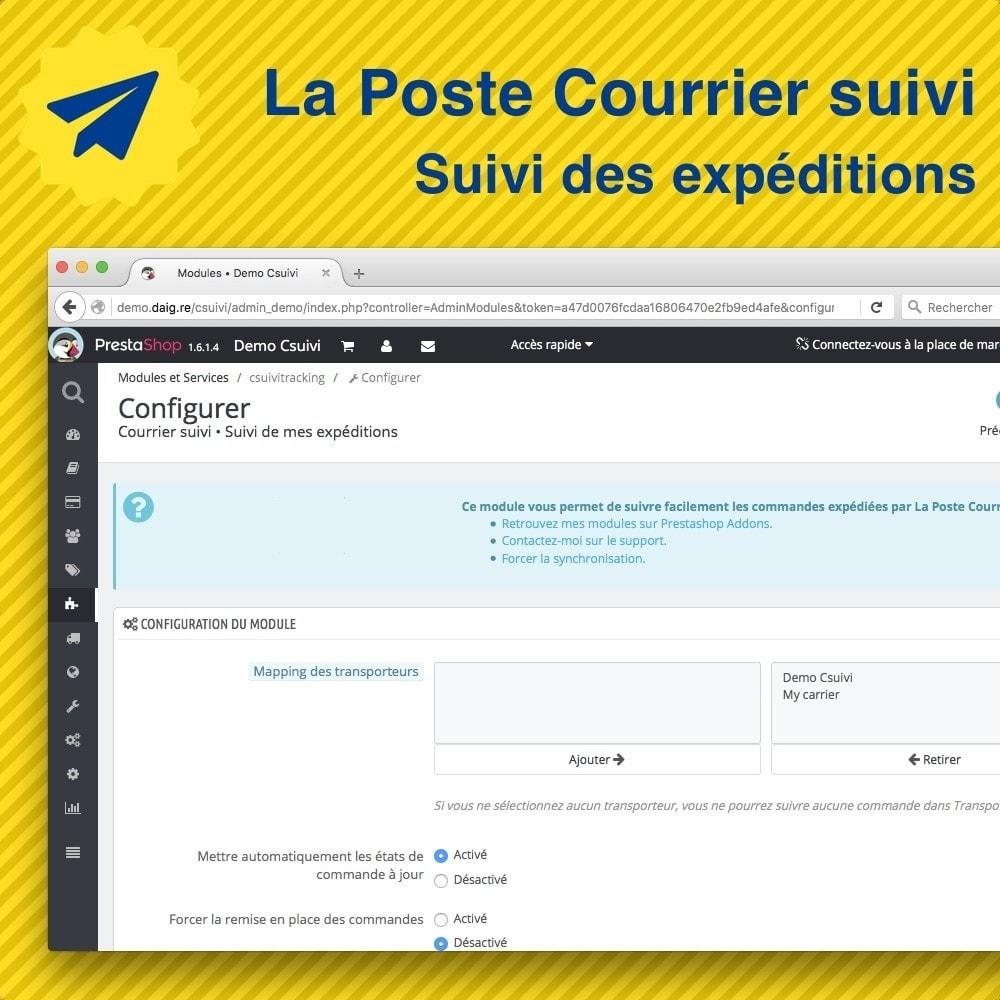 module - Seguimiento de la entrega - Suivi des expéditions La Poste, Colissimo, Chronopost - 4
