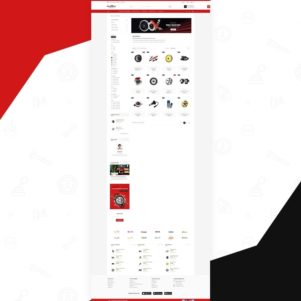 theme - Automotive & Cars - AutoBurn – AutoPart and Tool Super Store v3 - 3