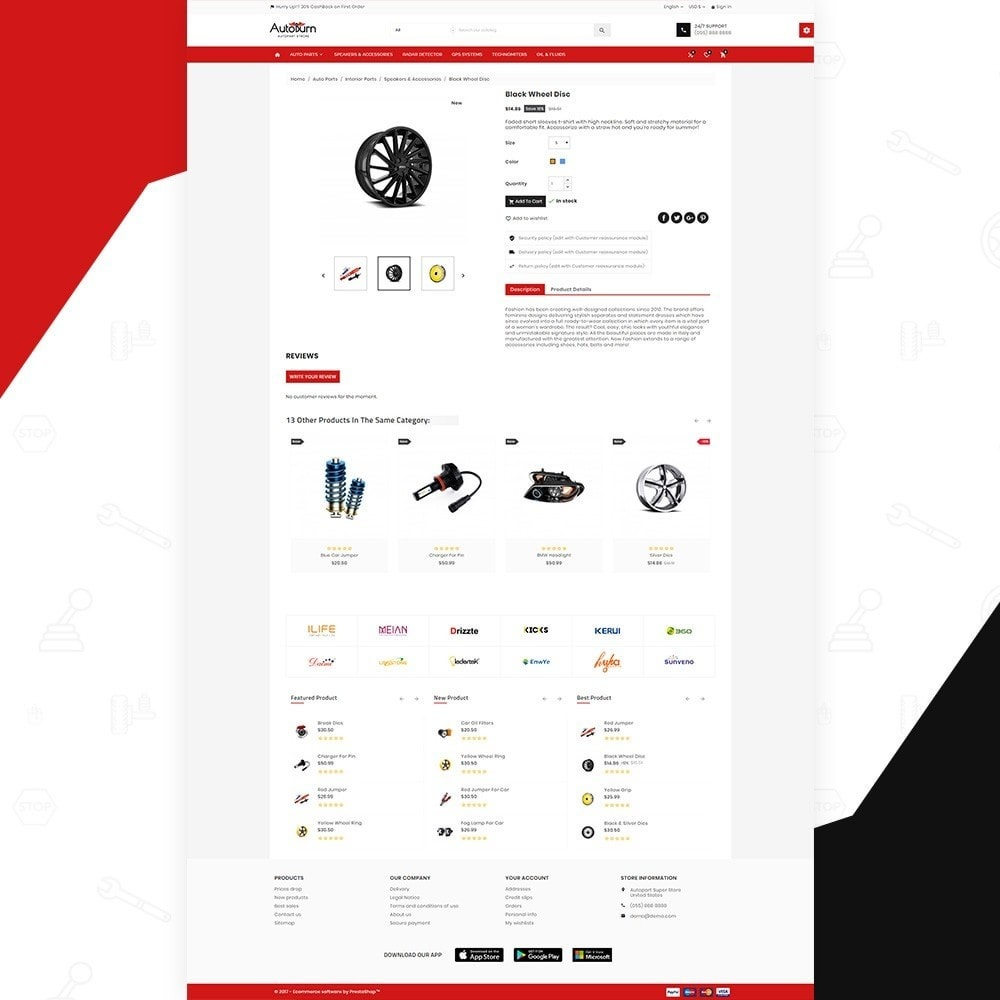 theme - Automotive & Cars - AutoBurn – AutoPart and Tool Super Store v3 - 4