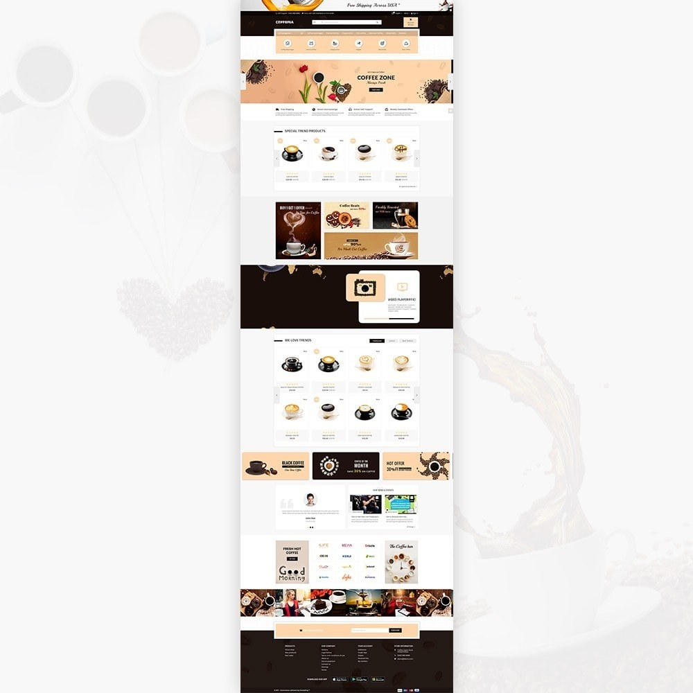theme - Getränke & Tabak - Cofferia – Coffee Super Store - 2