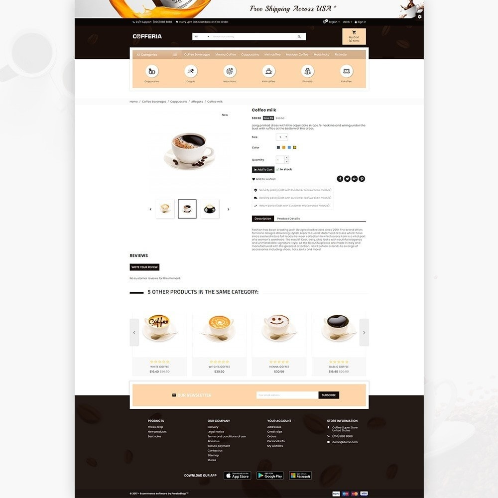 theme - Getränke & Tabak - Cofferia – Coffee Super Store - 4