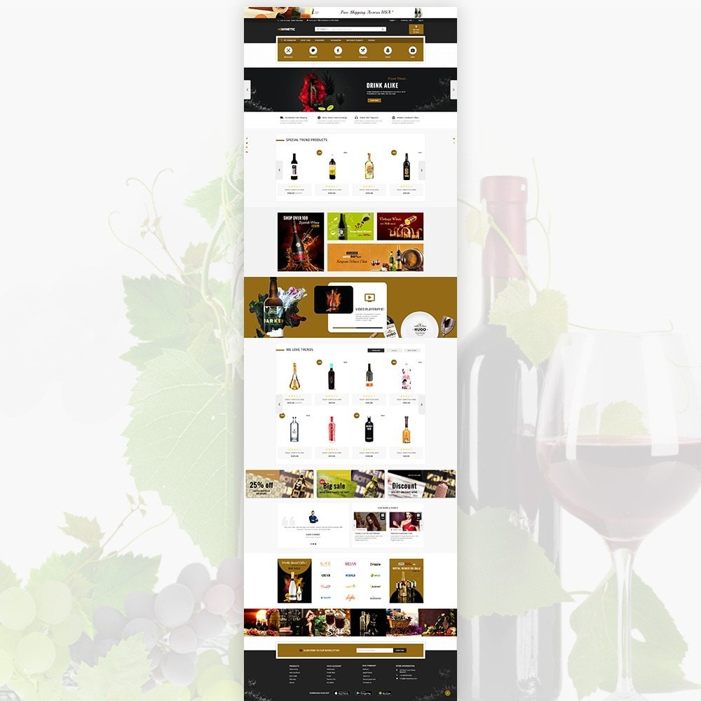 theme - Bebidas y Tabaco - WineTic – Wine Super Store - 2