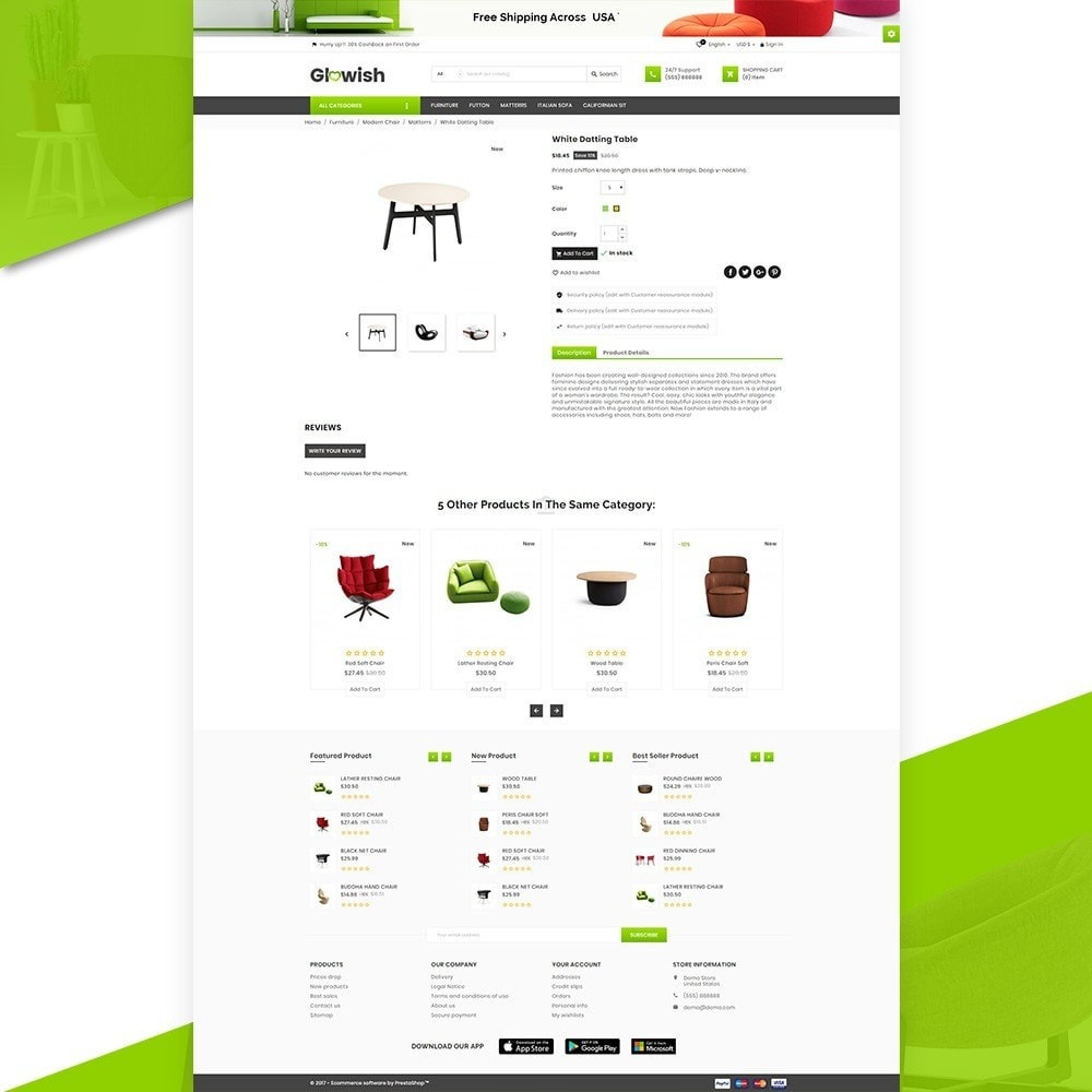 theme - Maison & Jardin - Glowish – Furniture Super Store v2 - 5