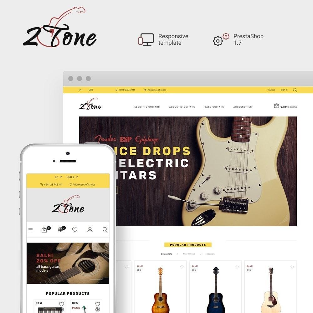 theme - Kultura & Sztuka - 2Tone - Guitar Store - 1